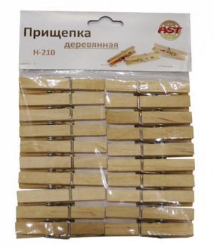 Прищепки деревянные усиленные 20шт (1\180) Н-210