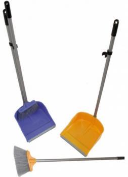 Набор для уборки щётка и совок, большой L-98см (1\24)