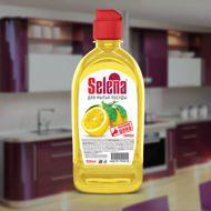 Средство для мытья посуды, эконом 0.5л, Лимон (1\24) МО 46