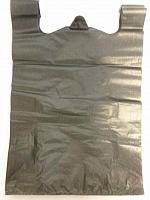 Пакет 30х56, майка черная (100\2000) 414563