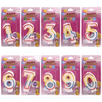 Свеча для торта, цифра (1\10\360)