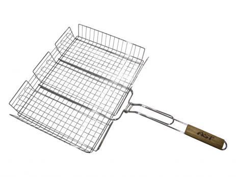 Решетка-гриль,дерручка 640Х325Х260Х65 (202-4)