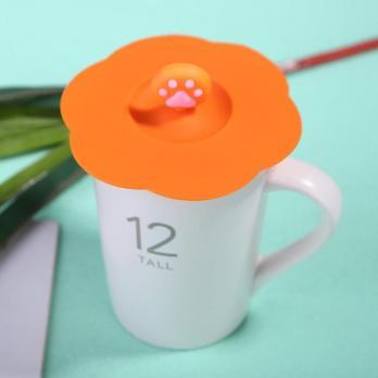 Крышка силиконовая D-10см, для чашек и кружек