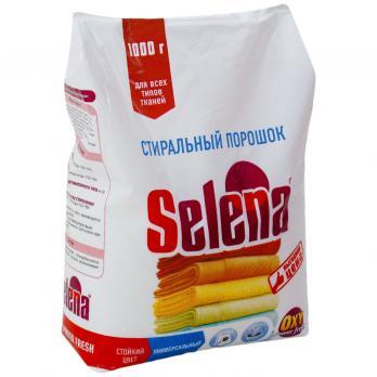 Селена выгодная цена стиральный порошок 1кг (1\12) Селена СТ 13