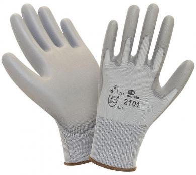 Перчатки нейлон с полиуретан (1\12\960) PU501
