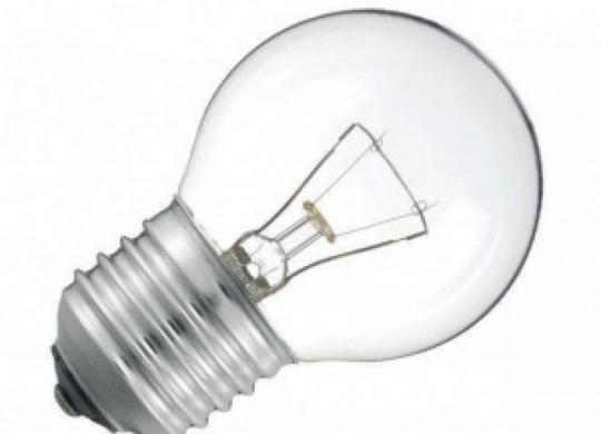 Лампа 60в-Е27 А60 Шарик прозрачная (1\10\100) КОСМОС