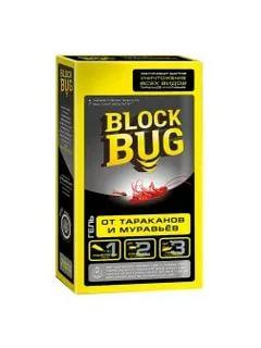 Гель от тараканов и муравьёв 75мл (1\24)Block Bug