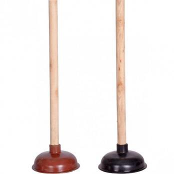 Вантуз с деревянной ручкой 40см (1\100)
