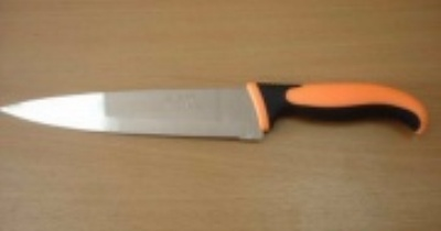 "Нож кухонный 8"" цв. пласт. ручка 08Р (12\120)"