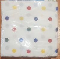 Бумажные салфетки 20л 33х33 2х-слойные (48)