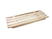 Деревянная решетка в ванную (1\10)