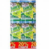 Инсектицидные пластины от комаров 20 % в подарок ИН 59 Тайга Family