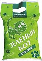 Наполнитель для кошачьего туалета, древесный, 5л (1\18) Зеленый кот