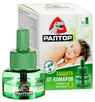 Жидкость от комаров, 30 ночей (1\24) РАПТОР